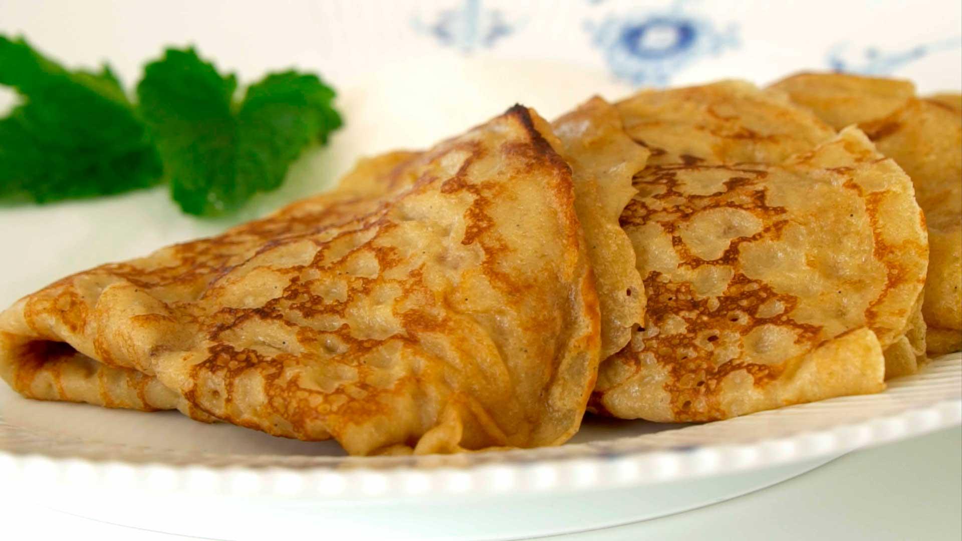 Pandekager Verdens Bedste Og Nemmeste Dessert Foodtv